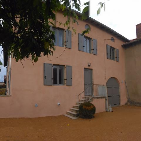 Architecture, Maison de campagne, domaine viticole, Beaujolais