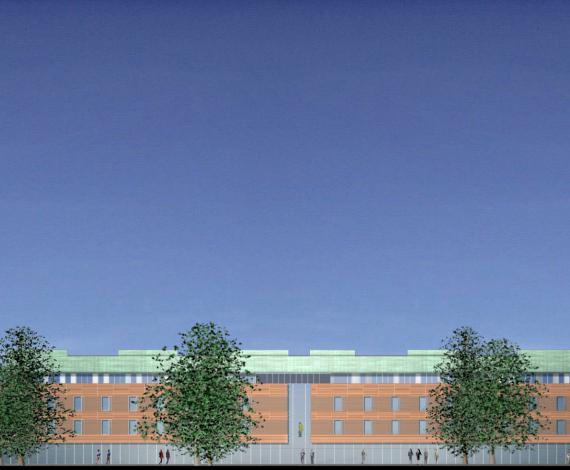 Hôpital psychiatrique d'Arras (62)