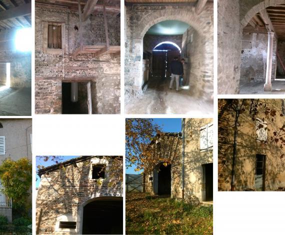 Réhabilitation écologique d'un cuvage viticole avec transformation en résidence secondaire et en loft
