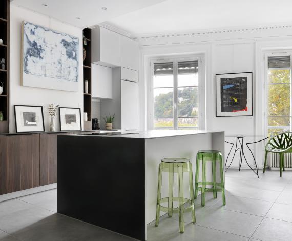 Création d'un concept de galerie appartement
